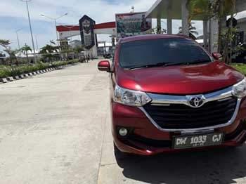 mobil-merah-perbatasan sentani papua dengan PNG